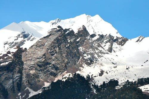 Free stock photo of himalayas, mountain, snow capped mountain, snow mountain