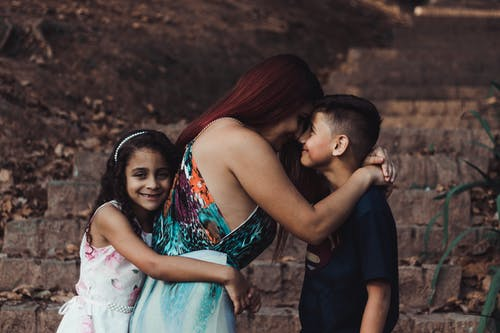 Free stock photo of affection, attachment, brothers, child
