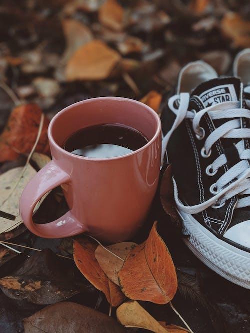 Darmowe zdjęcie z galerii z but, cappuccino, drink, dzień