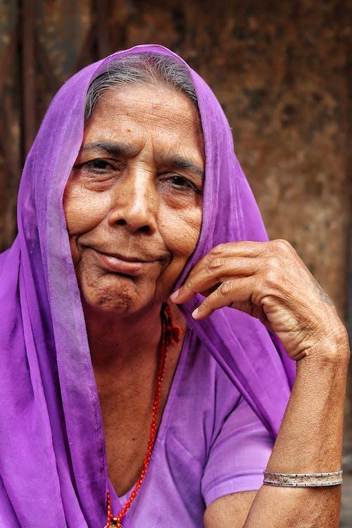 Photo Of Woman Wearing Purple Hijab
