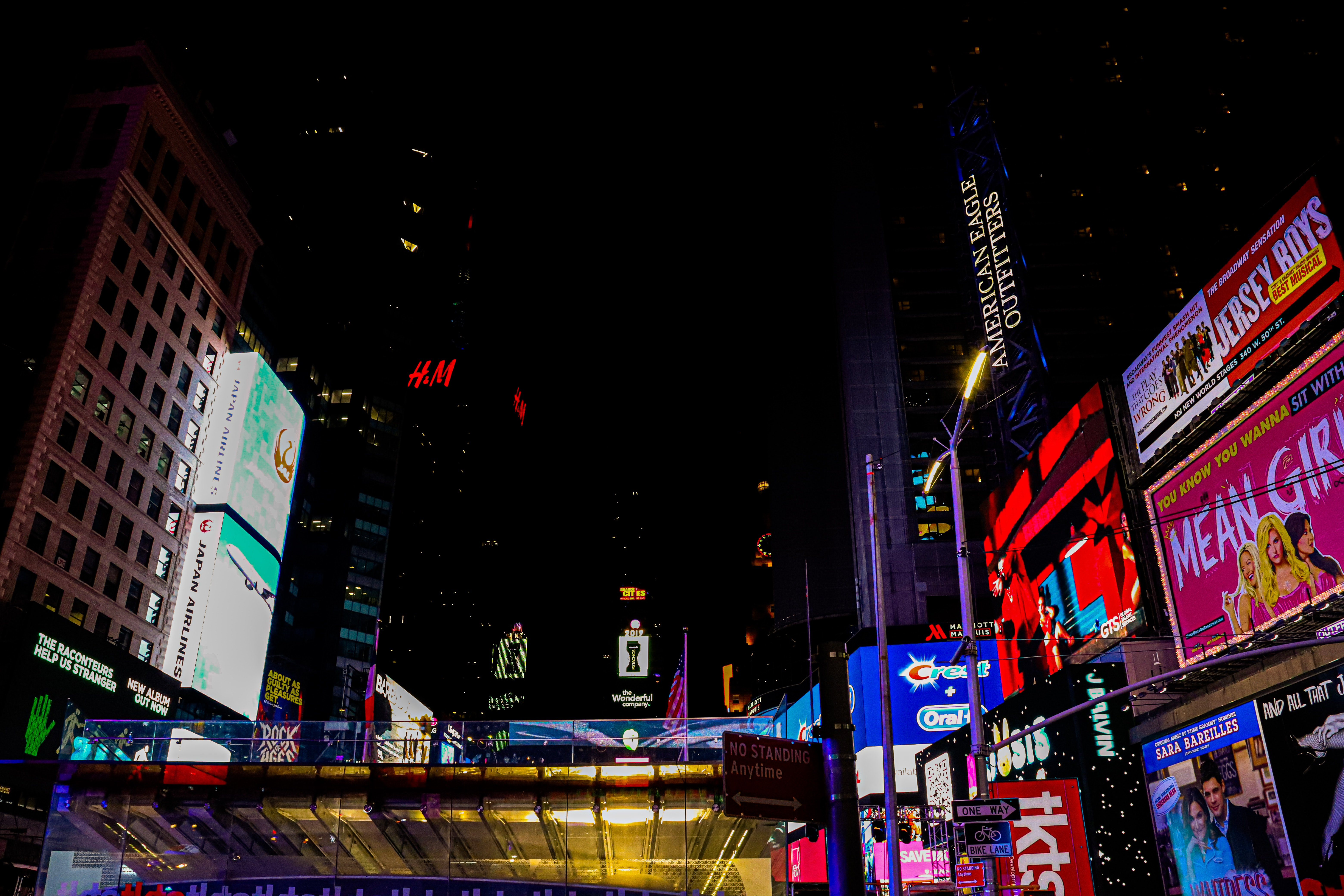 Free Stock Photo Of New York Signs Times Square