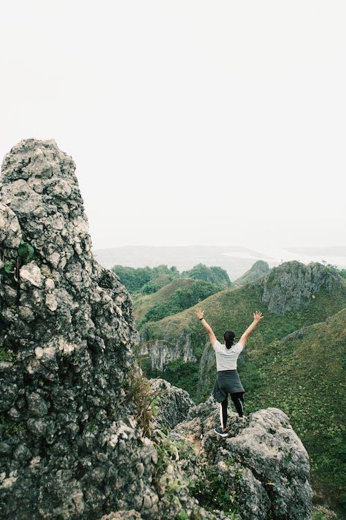 Imagine de stoc gratuită din agrement, alpinism montan, aventură, cer