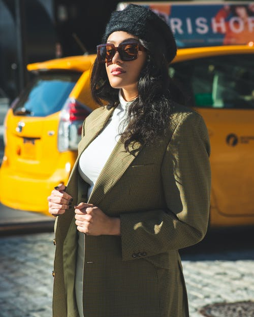 Photo Of Woman Wearing Coat