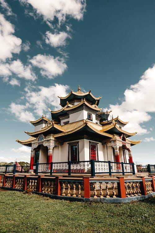 Foto profissional grátis de ancião, arquitetura, arquitetura chinesa, casa