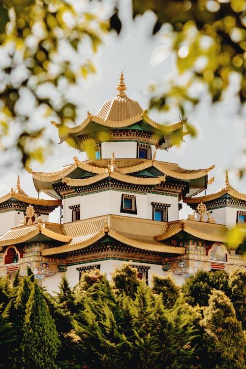 Gratis stockfoto met architectuur, buitenkant, chinese architectuur, gebouw