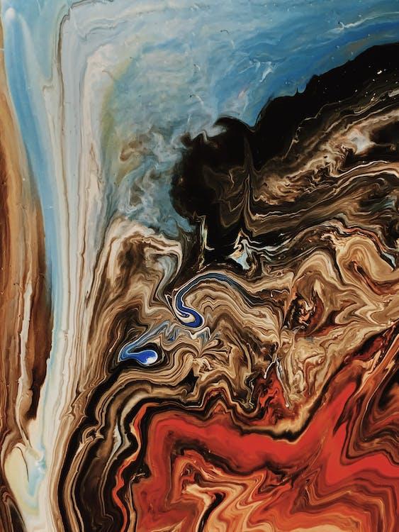acrylique, art, art abstrait