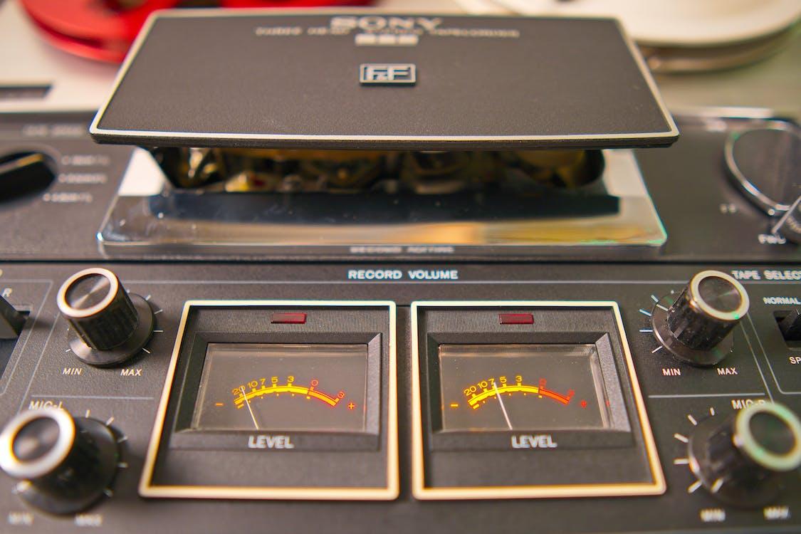 Free stock photo of tape machine, vintage