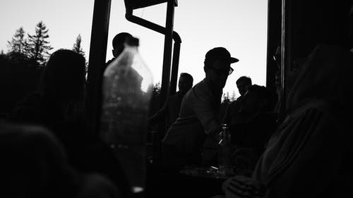 Photos gratuites de coucher de soleil, fête, groupe de personnes, rassembler