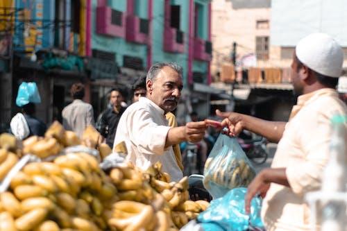 Photos gratuites de bahawalpur, bananes, fournisseur, pakistan