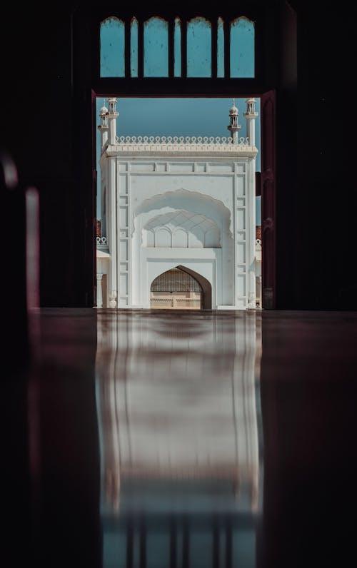 Photos gratuites de cadre dans un cadre, mosquée, reflet