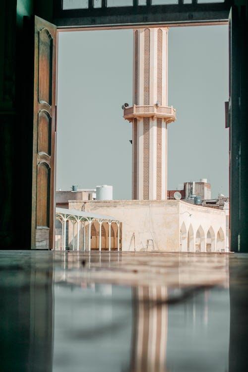 Photos gratuites de cadre dans un cadre, mosquée, reflet, vieux batiments