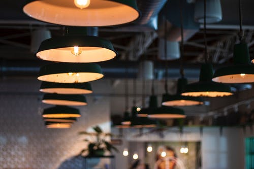 Free stock photo of café, ceiling, exposed ceiling, light
