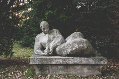 Photos gratuites de automne, statue