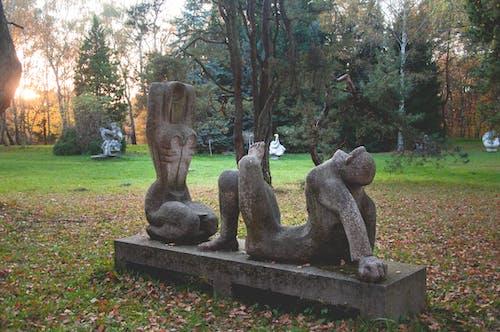 Photos gratuites de automne, statue, statues