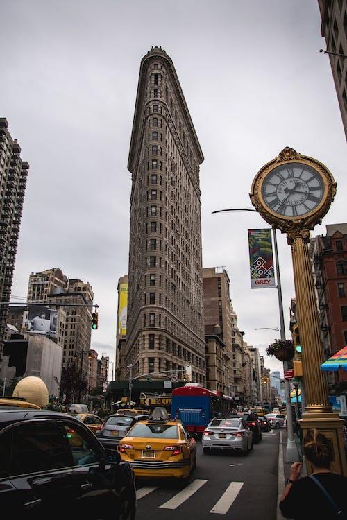Foto d'estoc gratuïta de Edifici Flatiron, EUA, flatiron, Manhattan