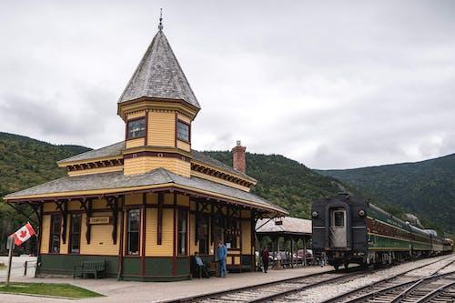 Foto d'estoc gratuïta de caure, crawford, estació de tren, EUA
