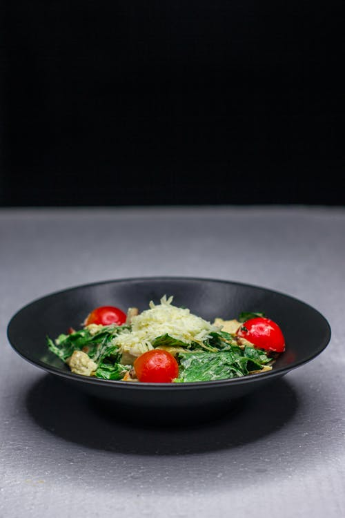 Photo Of Vegetable Salad On Plate