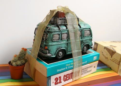 Základová fotografie zdarma na téma autobus, barvy, dárek, kaktus