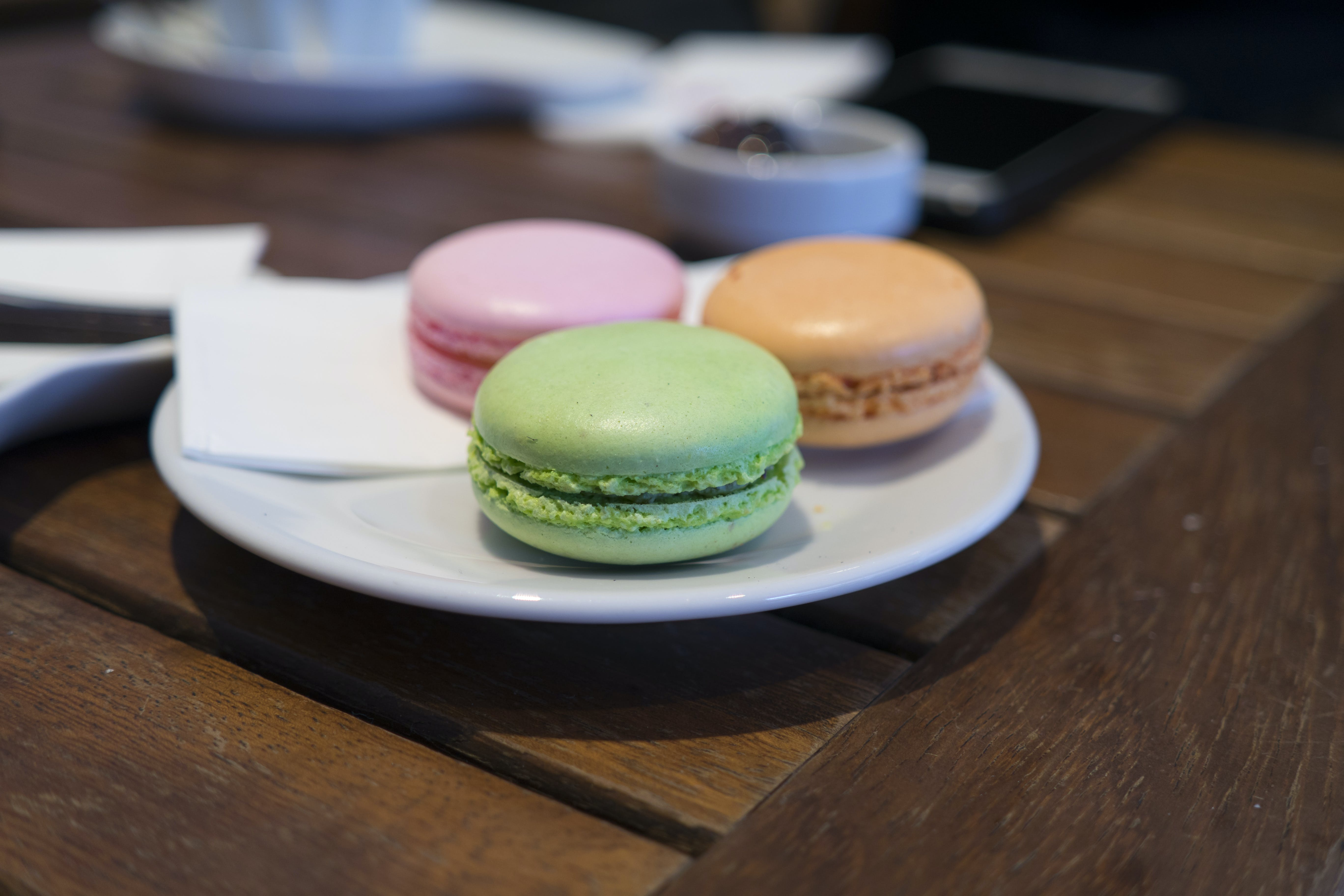 Close-up of Macaroons