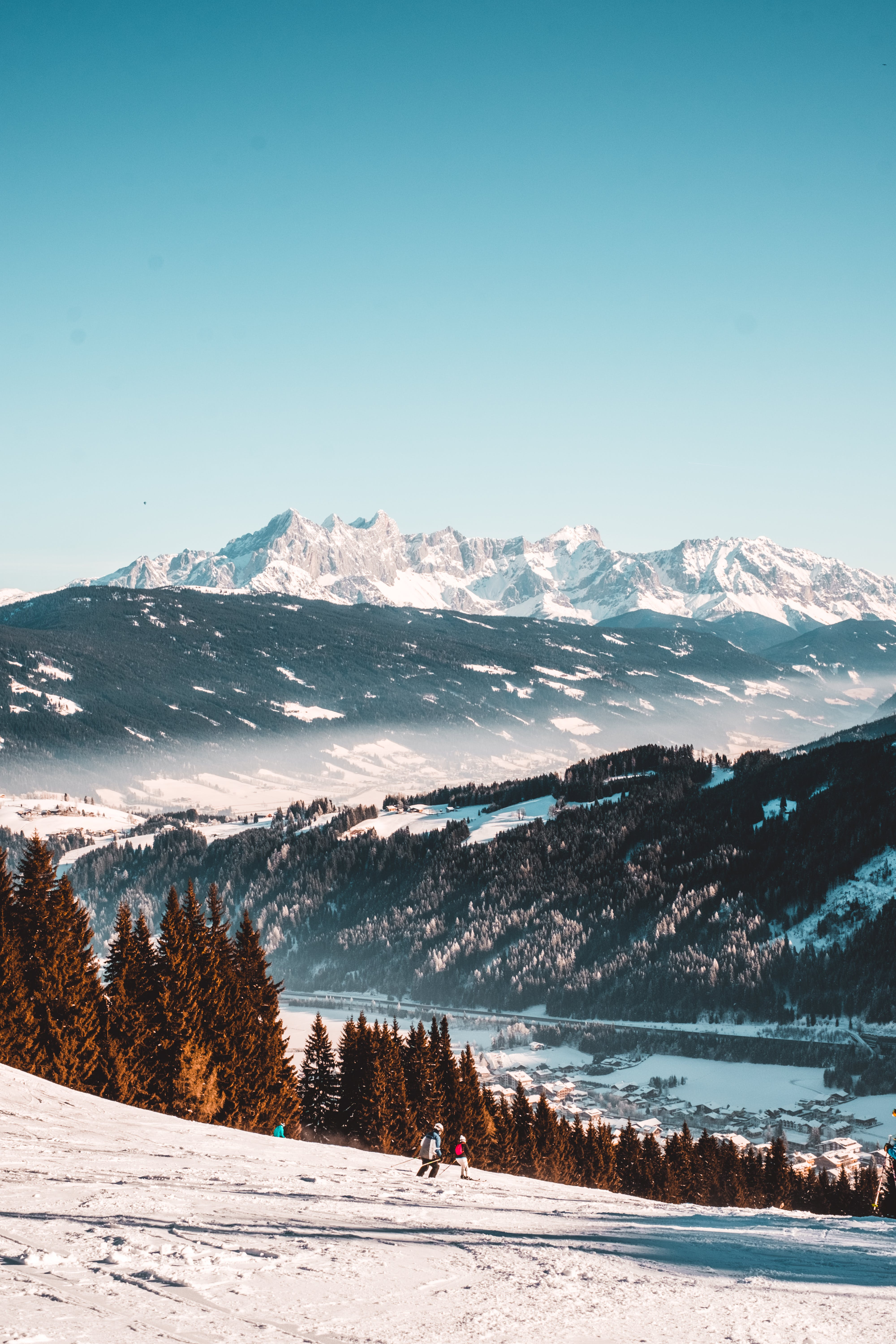 Free stock photo of frost, landscape, mountain, mountain view