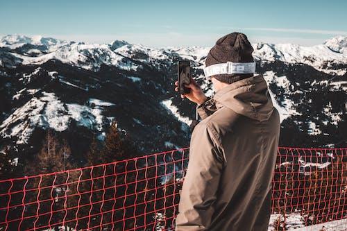 Ảnh lưu trữ miễn phí về cảnh núi non, chụp ảnh di động, đã kết nối