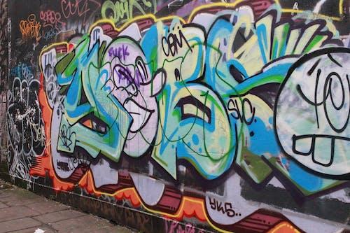 Free stock photo of art, graffiti, london, street art