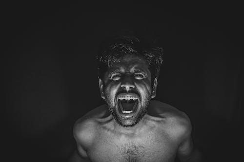 叫ぶ, 激しいの無料の写真素材