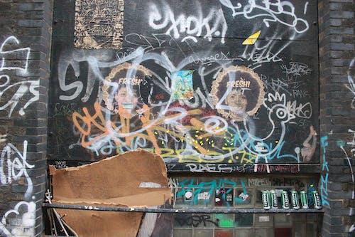 Free stock photo of art, fresh, graffiti, litter