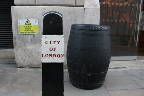 Free stock photo of barrel, city, london, sign