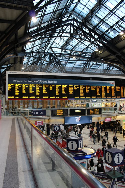 Free stock photo of architecture, arrival, city, Liverpool street station