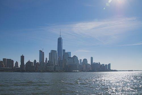 4k duvar kağıdı, abd, dünya ticaret merkezi, Manhattan içeren Ücretsiz stok fotoğraf
