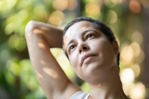 Close Up Kadının Fotoğrafı