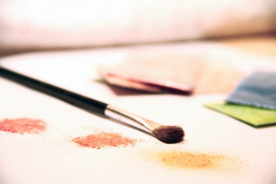 art, brush, colors
