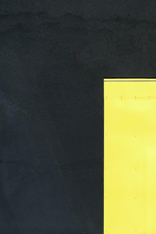 amarillo, cemento, color