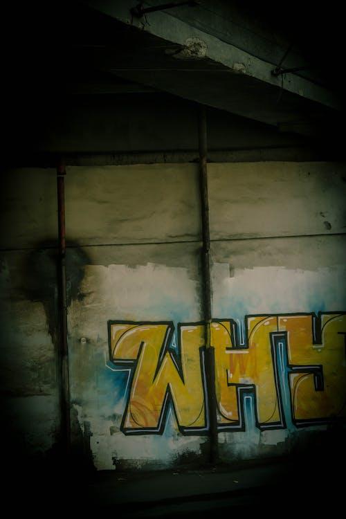 Gratis arkivbilde med graffiti, industriell, rå, under bakken