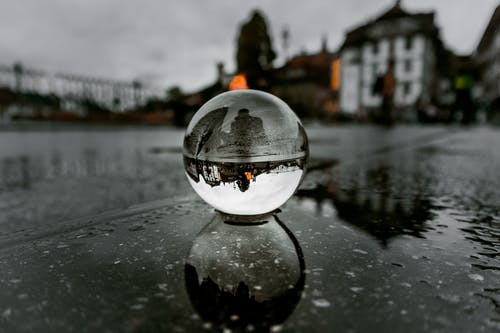 Darmowe zdjęcie z galerii z miasto, mokry, odbicie, ulica