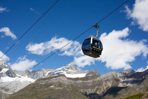Immagine gratuita di alpino, alto, ascensore, collina