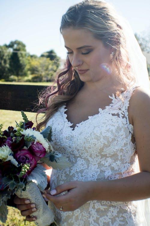 Ảnh lưu trữ miễn phí về bó hoa, cô dâu, lễ cưới, mềm mại