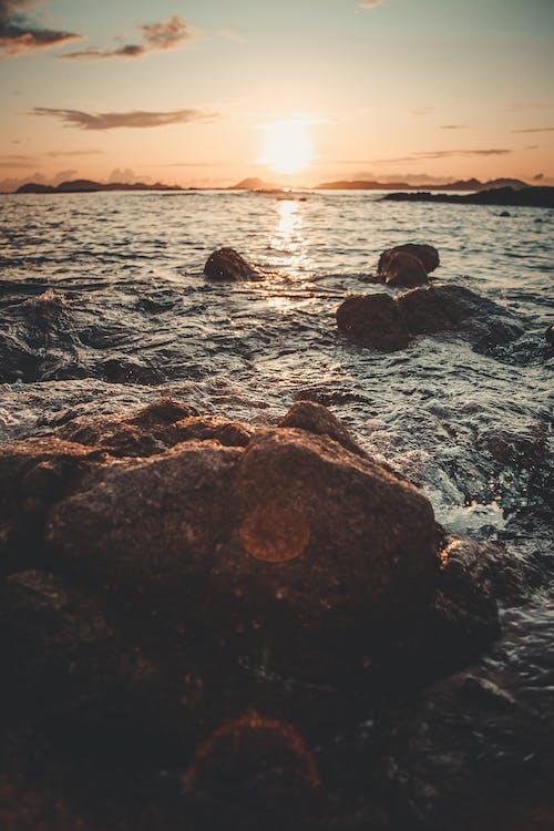 Základová fotografie zdarma na téma kameny, moře, oceán, přímořská krajina