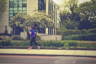 woman, jogger, jogging