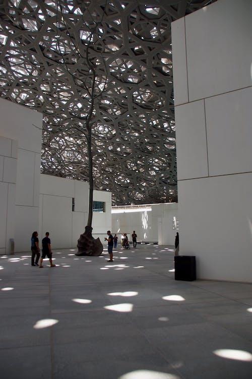 건물 외장, 두바이, 루브르 박물관, 박물관의 무료 스톡 사진