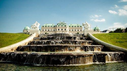Gratis stockfoto met architectuur, beeld, fontein, gebouw