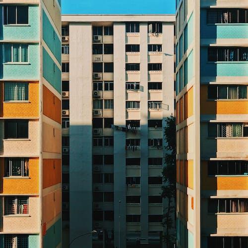 Ingyenes stockfotó építészet, épület, geometriai, külső témában