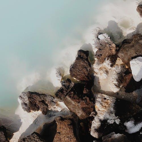 Ingyenes stockfotó barna, drónfelvétel, festői, geológia témában
