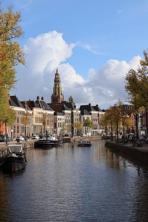 Foto d'estoc gratuïta de aigua, aigua blava, amsterdam