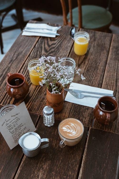 咖啡, 咖啡因, 持械搶劫, 杯 的 免费素材照片