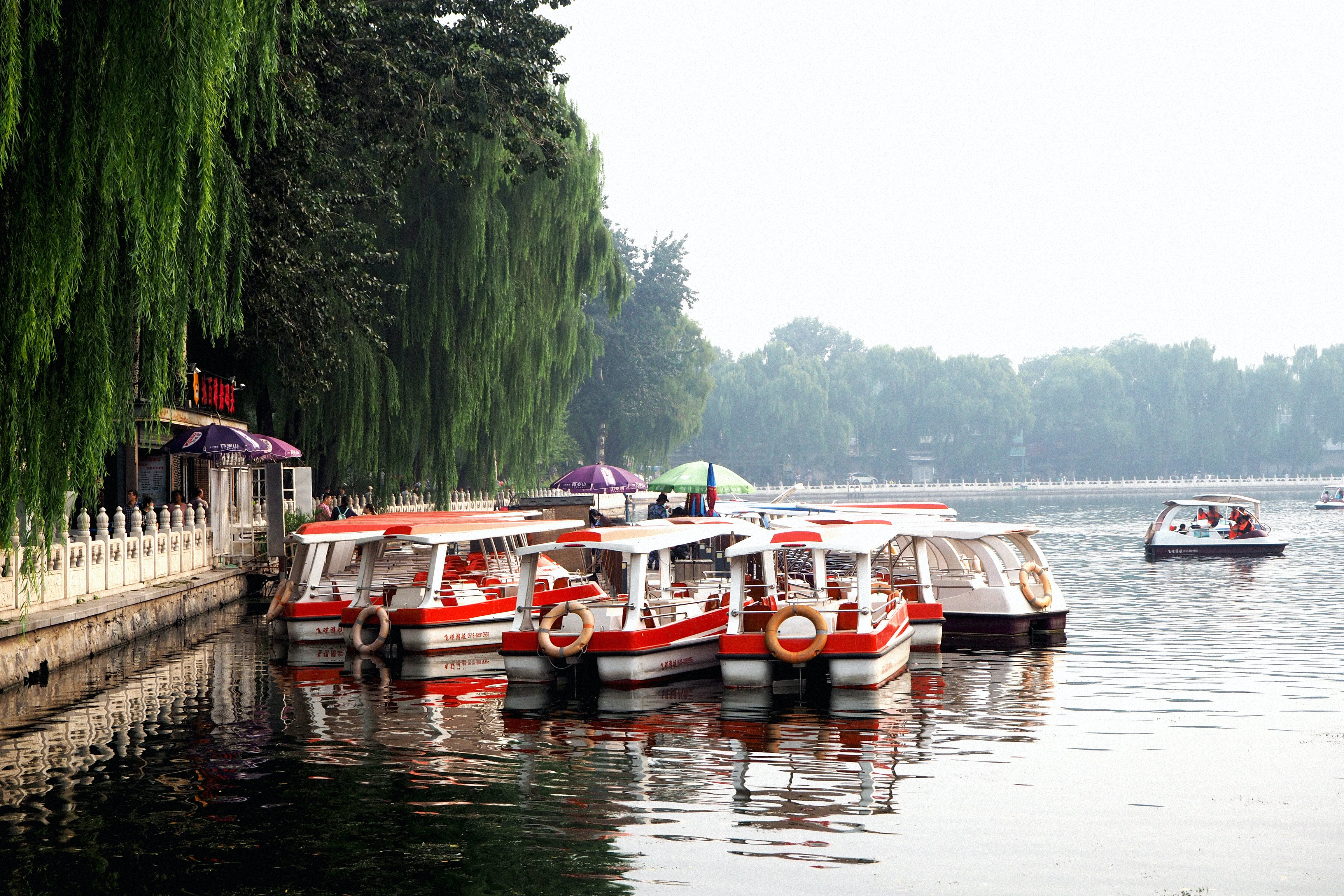 Free stock photo of Beijing, boat, china, city park