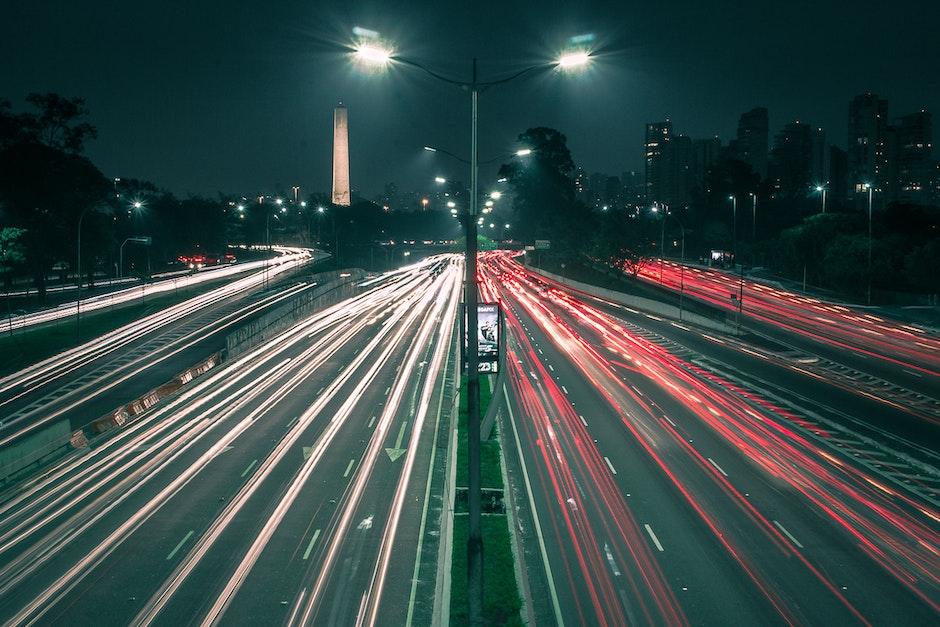 abend, architektur, auto