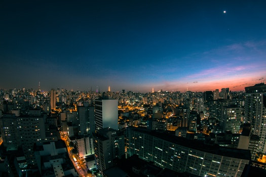 Free stock photo of city, dawn, sky, sunset