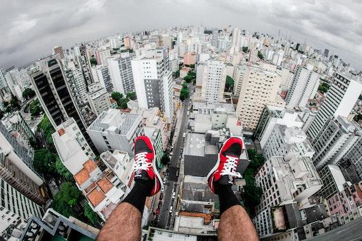 Free stock photo of city, feet, legs, skyline